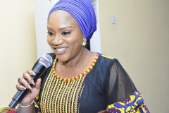 Represetating Wife of Lagos State Governor (Dr. Mrs Nike Osa)