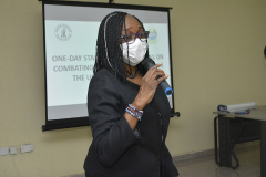 Professor F.T. Ogunsola (Chairperson of Academic Printing Press